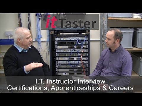 I.T. Instructor Interview - Courses, Certifications & Apprenticeships