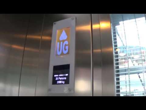 Kone EcoDisc Elevator At The Victoria Square Belfast