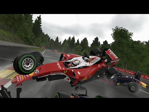 THE BIGGEST F1 CRASHES I HAVE EVER SEEN