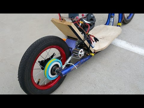 How to make your own electric scooter - DIY transport - part 1