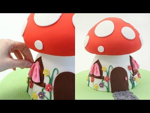 Fairy House Cake!
