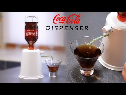 DIY Dispenser - How to Make a Soda Dispenser