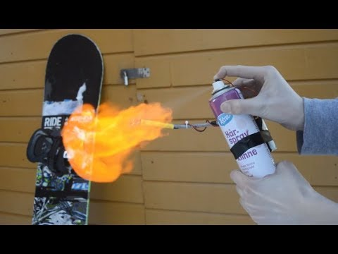 How To Make An Electric Flame Thrower?