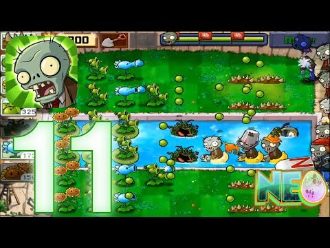 Plants vs. Zombies: Gameplay Walkthrough Part 11 - LEVEL 3.6 - 3.7 COMPLETED (iOS Android)