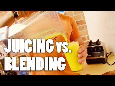 Juicing vs. Blending —How To Make Orange Juice with a Blender