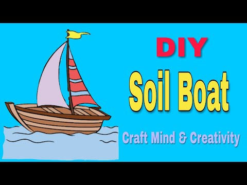 How to make origami Soil boat||  Paper craft idea|| paper soil boat