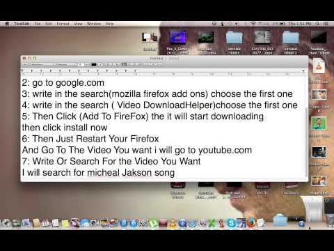 How to download Videos On Macbook Or Windows Using Mozilla Firefox