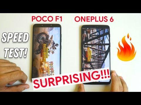 POCO F1 vs OnePlus 6 Speed test with 20 Apps I Multitasking test (Both 8GB)