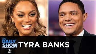 Tyra Banks - Sports Illustrated 22 Years Later   The Daily Show