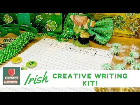 Creative Writing for St. Patrick's Day!