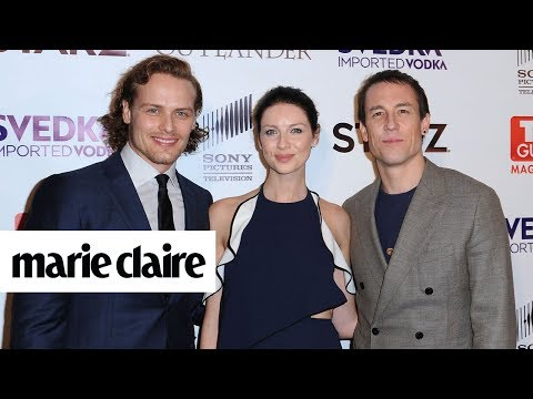 The 'Outlander' Cast Plays 'Two Truths and a Lie' About Season 3 | Marie Claire