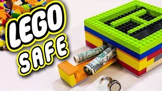 How To Build A Safe With Legos