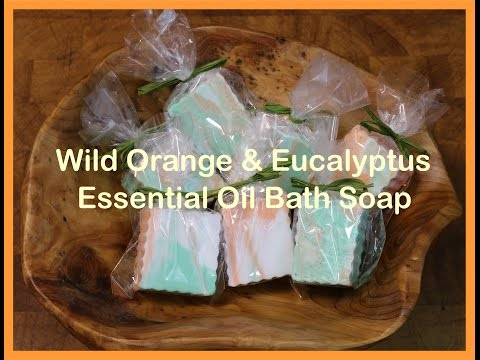 Pure Essential Oils DIY soap making