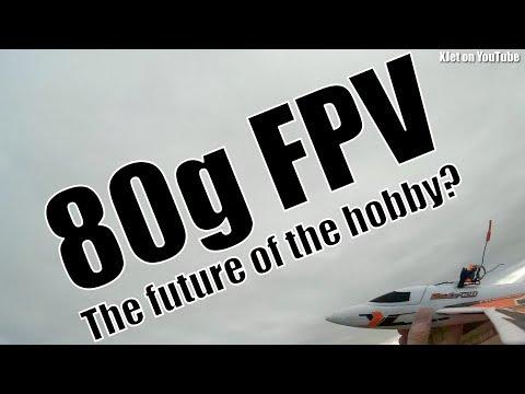 Ultra-light (80 gram) FPV RC plane - the future of the hobby?