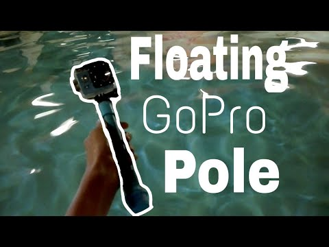 How to make a Floating GoPro (action camera) Pole.(diy action camera selfie stick)