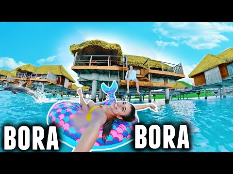 Bora Bora in 120 seconds