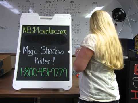 How to remove chalkmarker from a chalkboard!