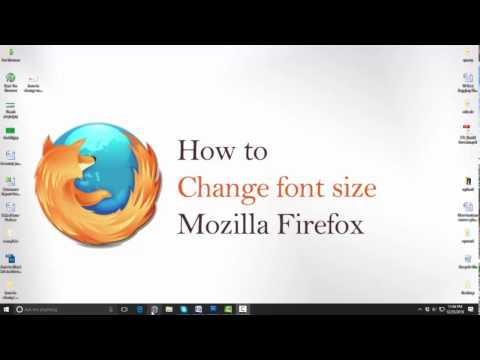 how to change font size in mozilla firefox - increase font size in mozilla