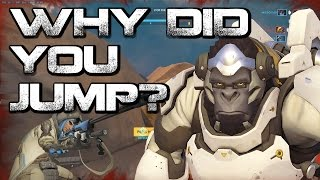Overwatch - Classic Cliff Jump
