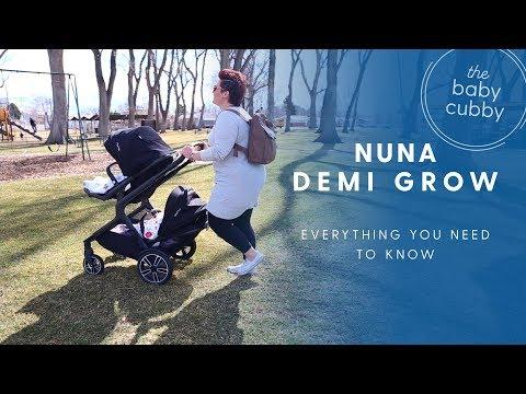 Nuna Demi Grow Double Stroller   2018 Review   NEW STROLLER