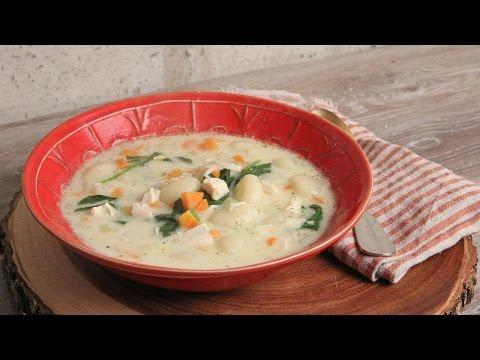 Chicken & Gnocchi Soup Recipe   Episode 1129