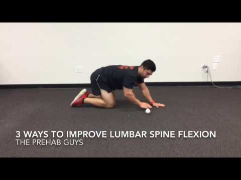 3 ways to improve lumbar spine flexion mobility