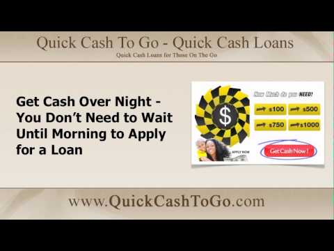 Need Fast Cash Overnight? Get a Cash Loan Now Apply Today