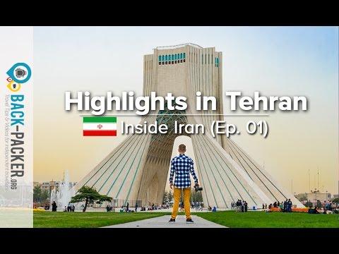 Exploring Tehran - Top Things to do & Tips (Inside Iran, Episode 01)