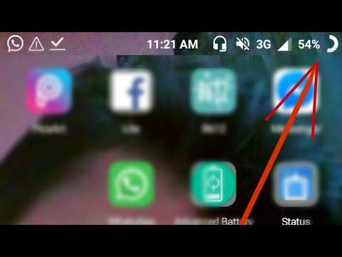 HOW TO change battery icon