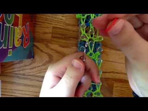 How to make a rainbow loom espeon pokemon charm part 3 of 3