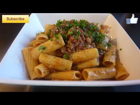 Rigatoni w/ Meat Sauce