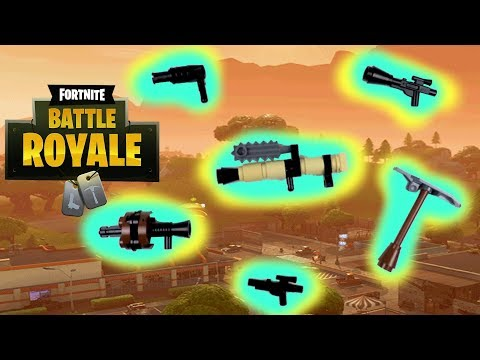 LEGO Fortnite Weapons and Tutorials