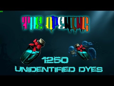 GW2 The Opening: 1250 Unidentified Dyes [HQ] by Dry Your Eyes