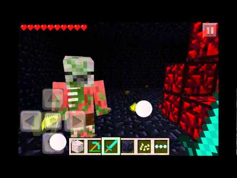 How To Make A Nether Portal (Nether Reactor) In Minecraft Pe