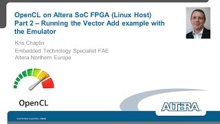 OpenCL on Altera SoC FPGA (Linux Host) – Part 2 – Running the Vector Add example with the emulator