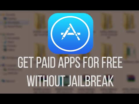 How to get paid apps for free iOS 8.1.3 - 8.4.1 (without jailbreak) Windows UPDATE 19/04/2015
