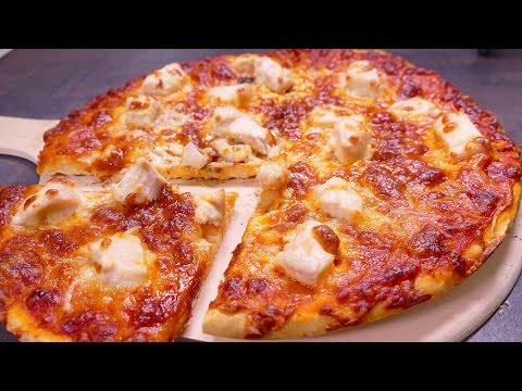 TASTY NO YEAST PIZZA - Easy food recipes for dinner to make at home