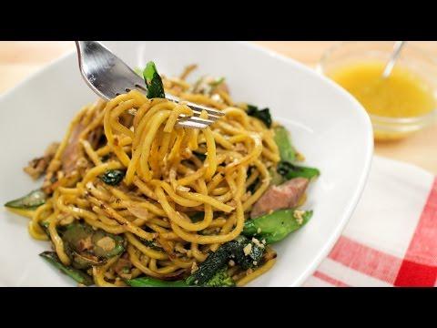 Egg Noodle Pad See Ew Recipe หมี่เหลืองผัดซีอิ๊ว - Hot Thai Kitchen!