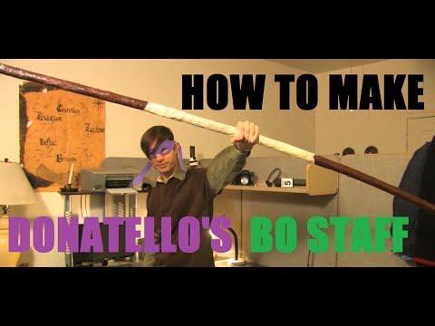 How to make Donatello's Bo Staff--TMNT