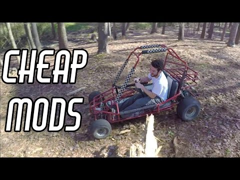 Cheap Off Road Go Kart Performance Mods