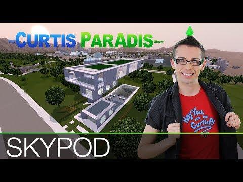 The Sims 3 - Building SkyPod House