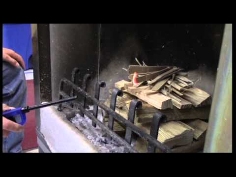 When it comes to firewood burning, take it from the top