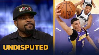 Ice Cube reacts to LaVar Ball saying the Lakers are Lonzo