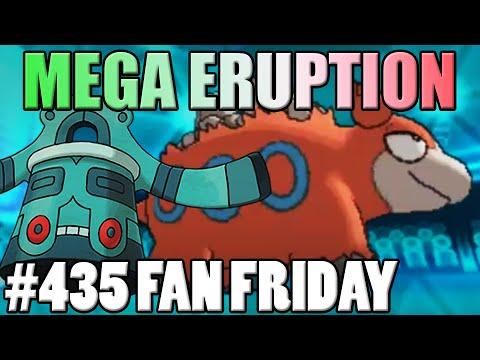 Mega Eruption! Pokemon Omega Ruby Alpha Sapphire WiFi Battle! Fan Fridays #435 Randon