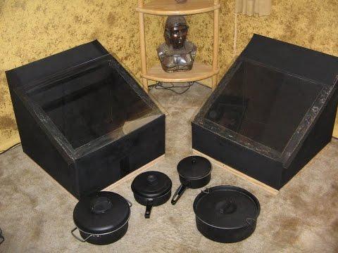solar oven DIY solar box cooker - solar cooking - simple DIY