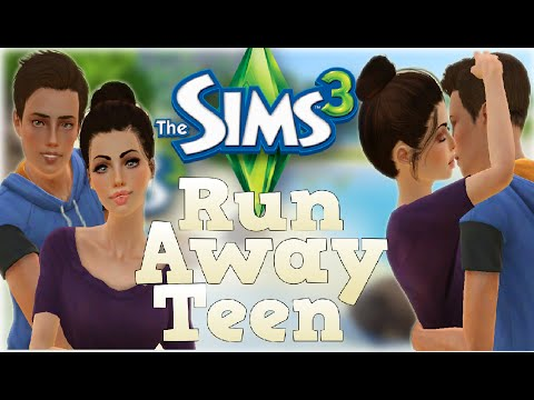 The Sims 3 Runaway Teen Couple Challenge (Part3) Teen Pregnancy!