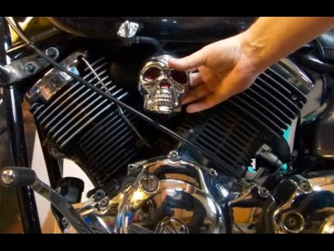 How To Make a Skull Carb Cover For 1100 V Star