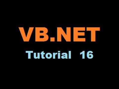 VB.NET Tutorial 16 : Loading a PDF (Adobe Acrobat) File in a VB.NET Form