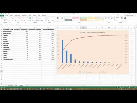 How To... Create a Pareto Chart in Excel 2013