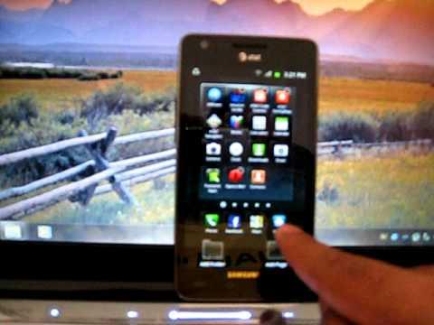 Custom Quick Launch Menu Bar on Samsung Galaxy S2(AT&T)